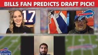 Bills Fan Predicts Draft Selection of A.J. Epenesa!