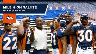 Terrell Davis, Rod Smith explain how Master P and a military mindset inspired the Mile High Salute