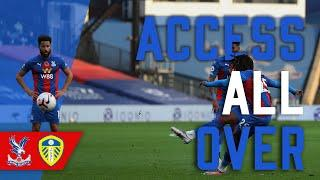 WATCH EBERECHI EZE'S UNSAVEABLE FREEKICK AS CRYSTAL PALACE THUMP LEEDS UNITED 4-1 | Access All Over