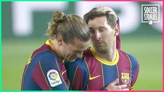 5 times Lionel Messi gave a penalty to his teammate | Oh My Goal