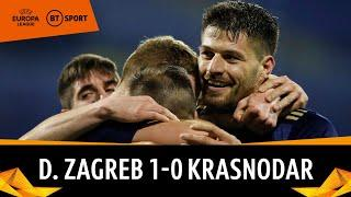 Dinamo Zagreb vs Krasnodar (1-0) | Europa League Highlights