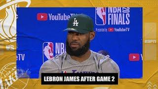 LeBron James not satisfied with win, knows Lakers can get better | 2020 NBA Playoffs