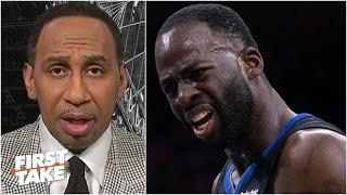 Stephen A. reacts to Draymond Green calling out the NBA for double standards | First Take