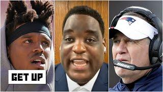Damien Woody explains what Cam Newton will be facing when playing for Bill Belichick | Get Up