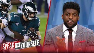Emmanuel Acho defends Carson Wentz after Eagles' Week 12 loss to Seahawks | NFL | SPEAK FOR YOURSELF