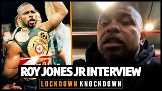"""He bit a guy's ear off... be ready for anything!"" Roy Jones Jr previews his fight with Mike Tyson"