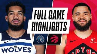 TIMBERWOLVES at RAPTORS | FULL GAME HIGHLIGHTS | February 14, 2021