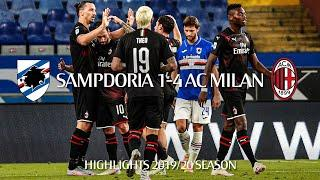 Highlights | Sampdoria 1-4 AC Milan | Matchday 37 Serie A TIM 2019/20