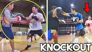 *LEAKED* MANNY PACQUIAO SCАRY POWER ON PADS TO K.O ERROL SPENCE ~BEGINNING OF TRAINIG CAMP~