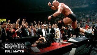 FULL MATCH - Stone Cold vs. Mr. McMahon & Shane McMahon – Ladder Match: WWE King of the Ring 1999