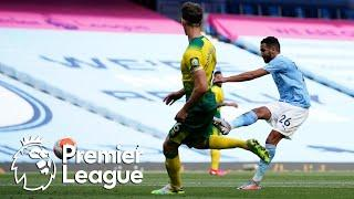 Riyad Mahrez smashes Man City into 4-0 lead v. Norwich City | Premier League | NBC Sports