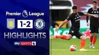 Chelsea come from behind thanks to Pulisic & Giroud!   Aston Villa 1-2 Chelsea   EPL Highlights