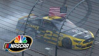 Brad Keselowski outlasts Denny Hamlin in NASCAR Cup race at New Hampshire | Motorsports on NBC