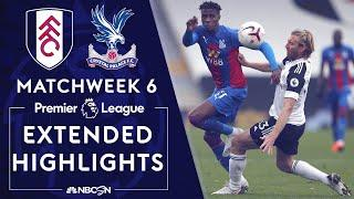 Fulham v. Crystal Palace | PREMIER LEAGUE HIGHLIGHTS | 10/24/2020 | NBC Sports