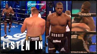 This is what Daniel Dubois' devastating punches sound like without fans | Listen In