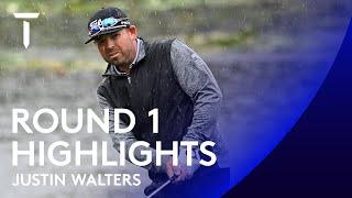 Justin Walters leads by three | Day 1 Highlights | ISPS HANDA UK Championship