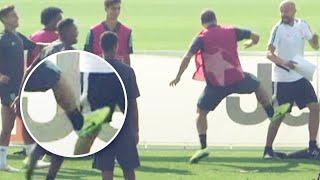 8 players who lost it during training | Oh My Goal