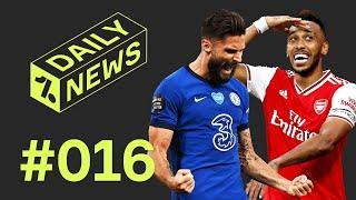 Arsenal vs Chelsea FA Cup Final! + Messi Makes History AGAIN!  Daily News