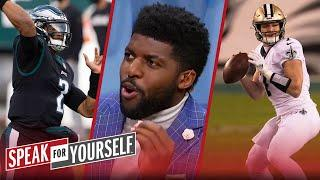 Hurts' Eagles win was impressive; talks disappointment in Saints — Acho | NFL | SPEAK FOR YOURSELF