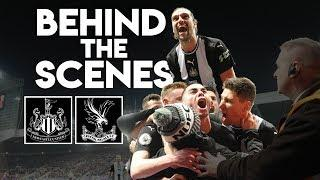 BEHIND-THE-SCENES | Newcastle United 1 Crystal Palace 0