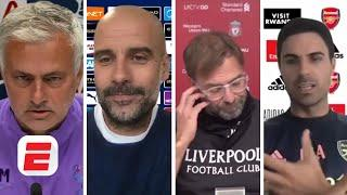 'DISGRACEFUL and DISASTER!' Mourinho, Klopp, Pep and Arteta react to Man City appeal win | ESPN FC