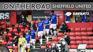 BEHIND THE SCENES AT BRAMALL LANE   ON THE ROAD: SHEFFIELD UNITED