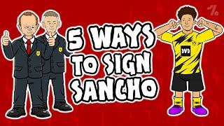 5 ways Man United could SIGN Jadon Sancho!  OneFootball x 442oons