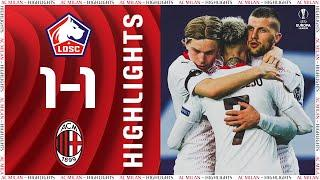 Highlights | Lille 1-1 AC Milan | Europa League Group Stage