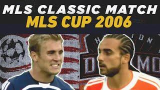 New England Revolution 1-1 Houston Dynamo | MLS Cup 2006 & Penalty Shootout | MLS CLASSIC FULL MATCH