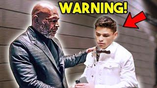"""️ MIKE TYSON GIVES RYAN GARCIA STERN WARNING AFTER HE GOT DROPPED : """"I SHOULD COACH YOU, F THEM ️"""