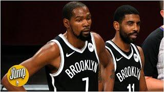 Should Nets keep stacking Kevin Durant and Kyrie Irving's minutes? | The Jump