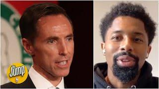 Spencer Dinwiddie reacts to the Nets hiring Steve Nash as head coach   The Jump