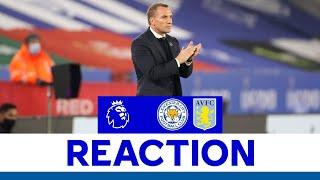 'Disappointed To Lose So Late' - Brendan Rodgers | Leicester City vs. Aston Villa