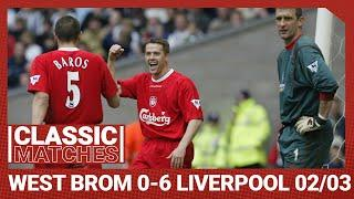 Classic Match: West Brom 0-6 Liverpool | Owen hits 100th PL goal as Reds run riot