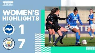 WSL: Albion 1 Man City 7