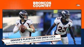 How did the Broncos utilize their playbook for Drew Lock? | Broncos Country Tonight