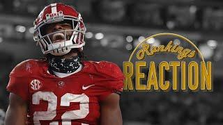 Can Alabama stay on top of the College Football world?   Rankings Reaction