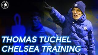 Exclusive: Thomas Tuchel's First Chelsea Training Session