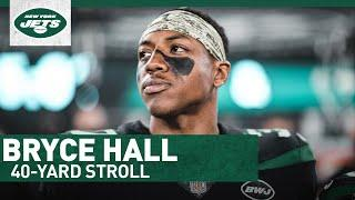 40-Yard Stroll: Bryce Hall Breaks Down The Perfect Thanksgiving Spread   New York Jets   NFL