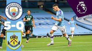 HIGHLIGHTS! | MAN CITY 5-0 BURNLEY | PHIL FODEN, RIYAD MAHREZ, DAVID SILVA | MAN CITY