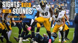 Mic'd Up Sights & Sounds: Week 7 Pittsburgh Steelers win over Tennessee Titans