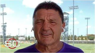 Ed Orgeron on how the LSU Tigers are preparing for the 2020 college football season   SportsCenter