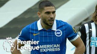 Neal Maupay's penalty gets Brighton off to fast start v. Newcastle | Premier League | NBC Sports