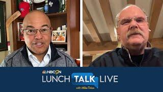 Andy Reid shares when Chiefs knew they were Super Bowl ready | Lunch Talk Live | NBC Sports