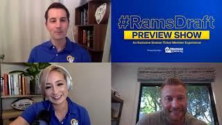 ICYMI: Pre-Draft Livestream with Sean McVay, Les Snead, HOF Isaac Bruce, and more | 2020 NFL Draft