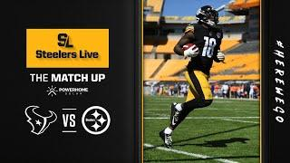 Steelers Live The Match Up (Sept. 24): Week 3 vs Houston Texans