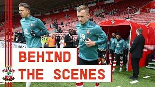 BEHIND THE SCENES: Southampton 0-1 Newcastle United | Premier League