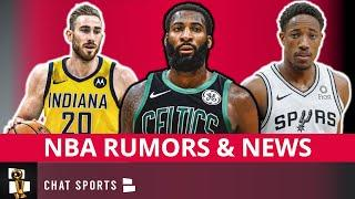 NBA Trade Rumors On Andre Drummond, Gordon Hayward & DeMar DeRozan + Warriors Draft Workouts