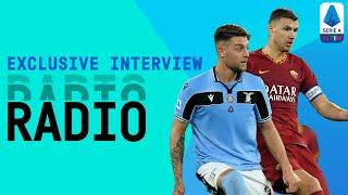 The Roma Derby ON RADIO!   Exclusive Interview   Serie A TIM
