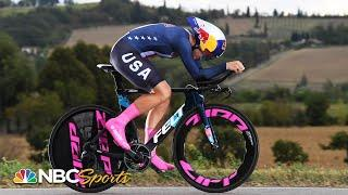 USA's Chloe Dygert crashes, injured in UCI world championships time trial | NBC Sports